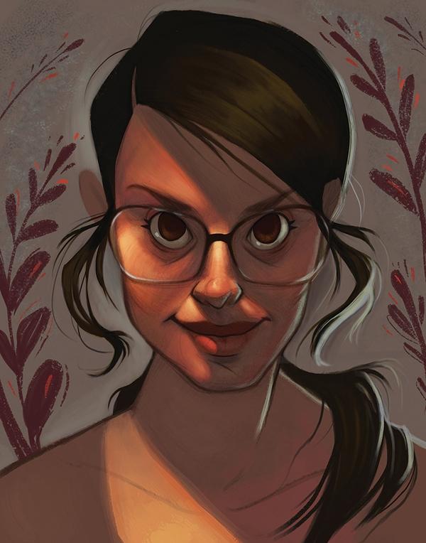 portrait - selfportrait - emilyjulstrom | ello