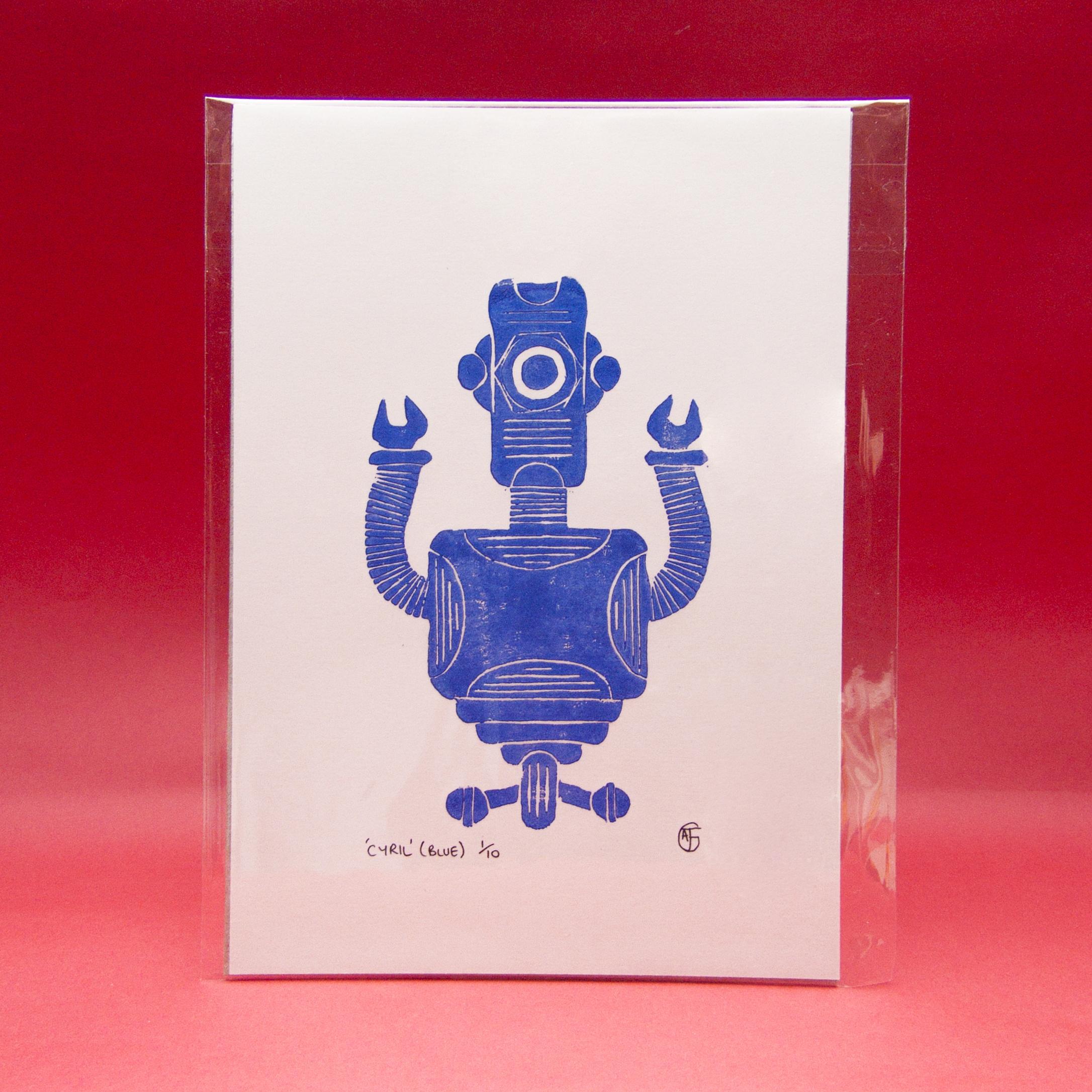 Robot Cyril (Limited Edition Li - ajgartanddesign | ello