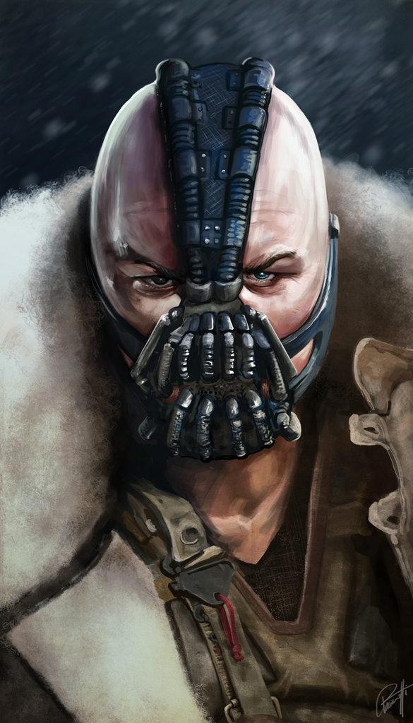 Bane. Dark Knight Rises - leoarts | ello