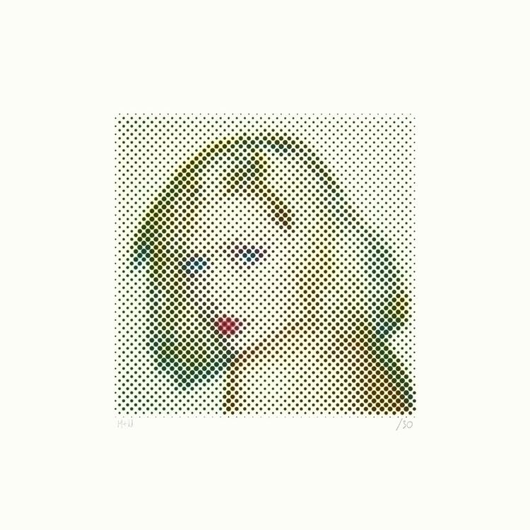 Screen print Polaroid - Debbie  - mick_wout | ello