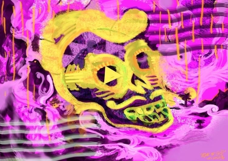 Digital Paint Experiment 2017,  - jimi | ello