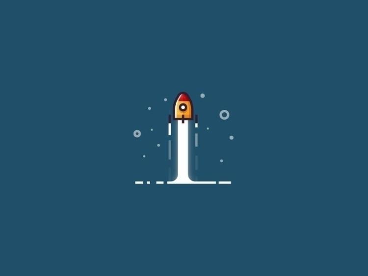 Minimalist rocket Follow Instag - kirp | ello