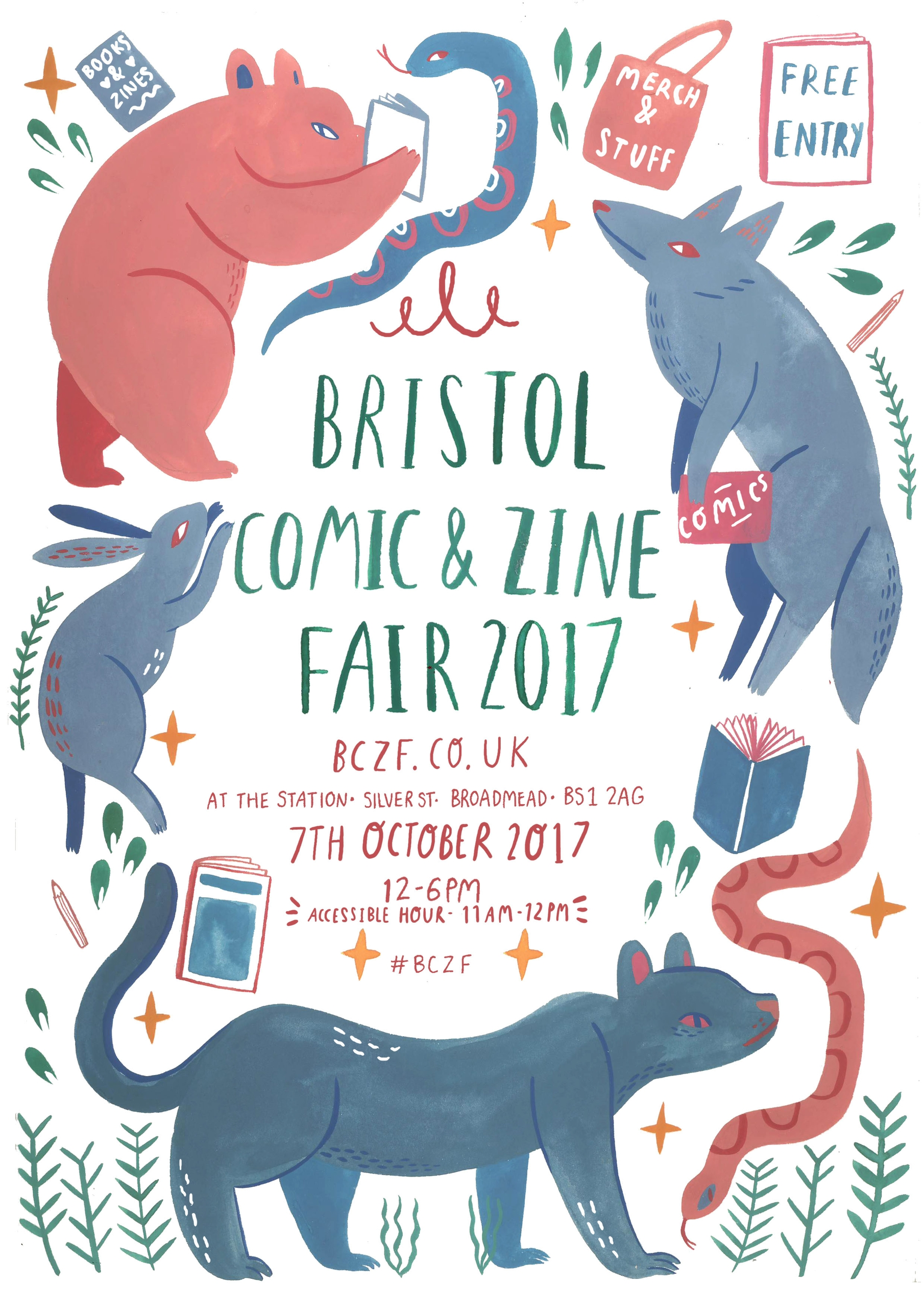 Huge Lize Meddings designing BC - bristolcomicandzinefair | ello