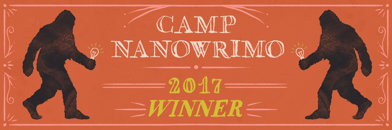 Drumroll ... finished Camp NaNo - tinpoet | ello