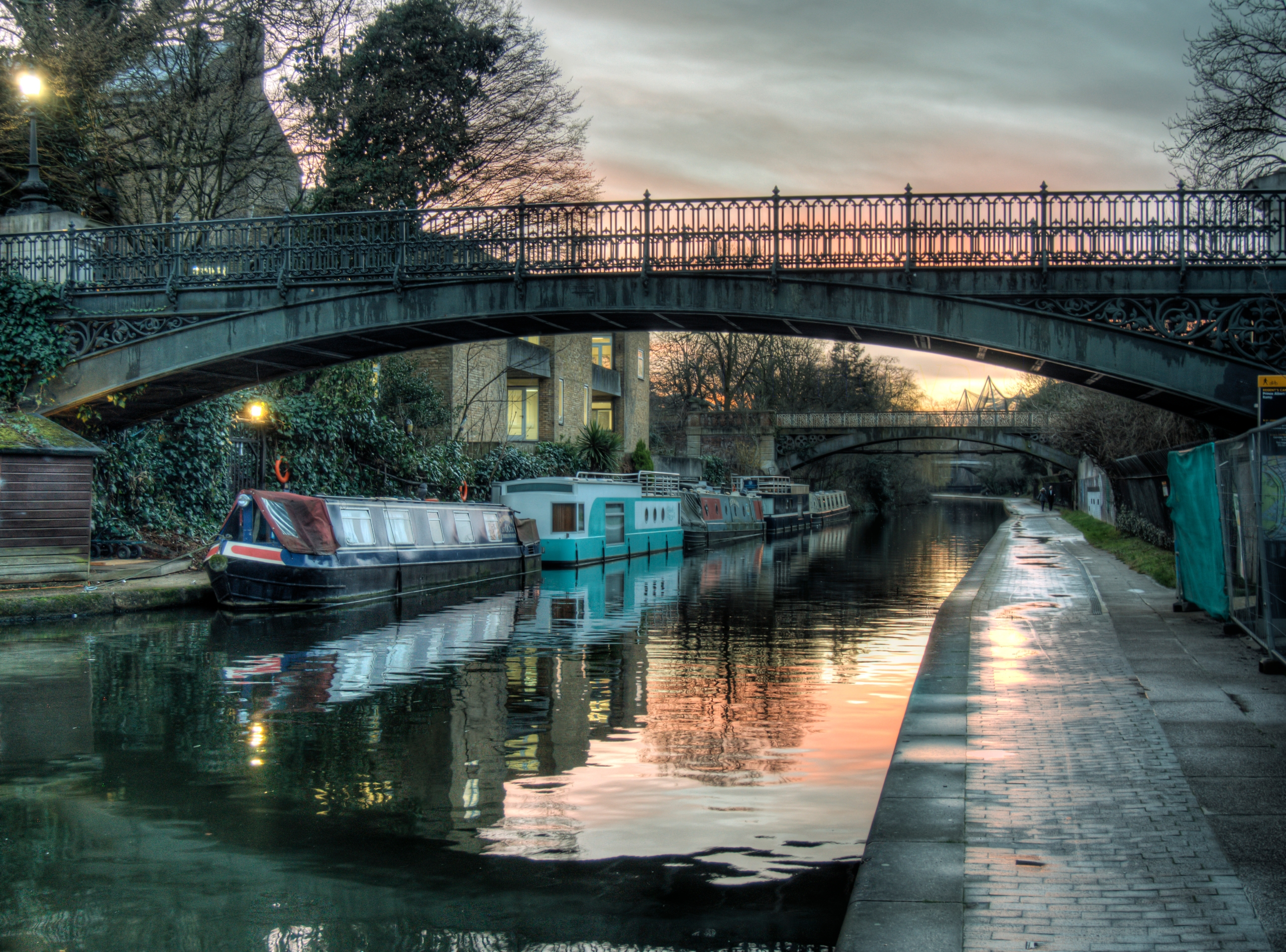 Camden Sunset - Canal London - camden - neilhoward | ello