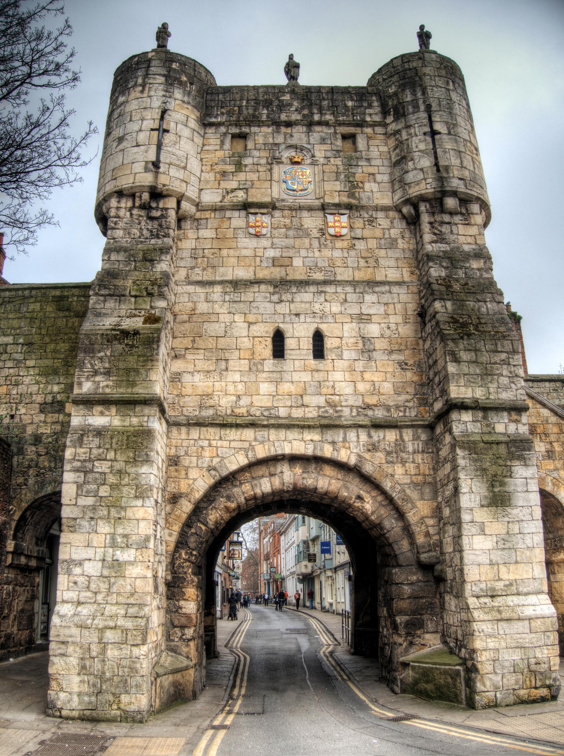 City Gate- York - ancient gates - neilhoward | ello