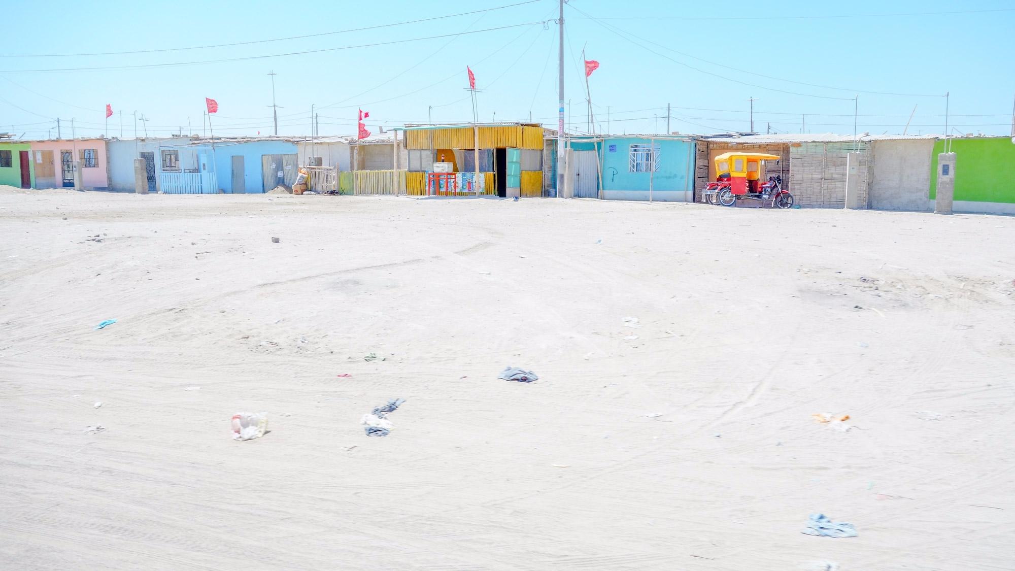 Paita, Peru sky - clear, color, - chrishuddleston   ello