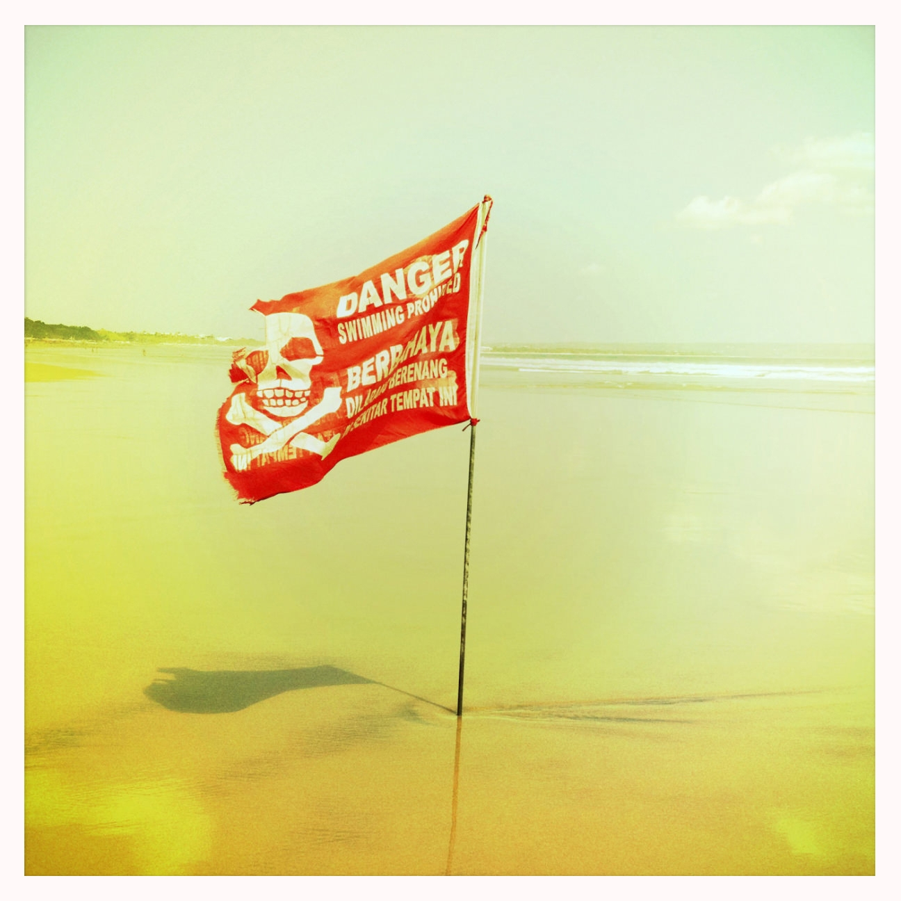 Danger - Photography, Flag, Beach - marcomariosimonetti | ello