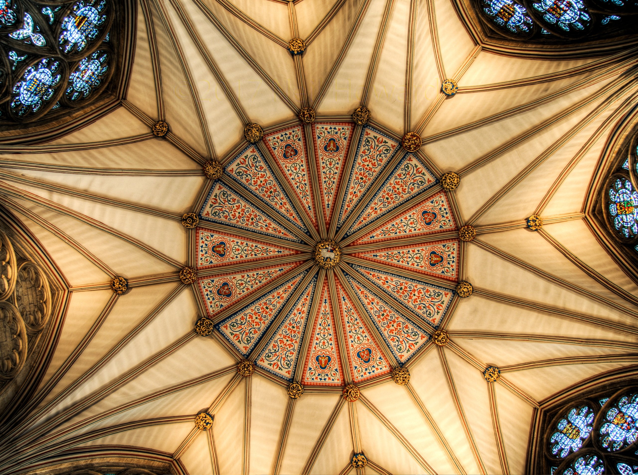 Ceiling Chapter House York Mins - neilhoward | ello