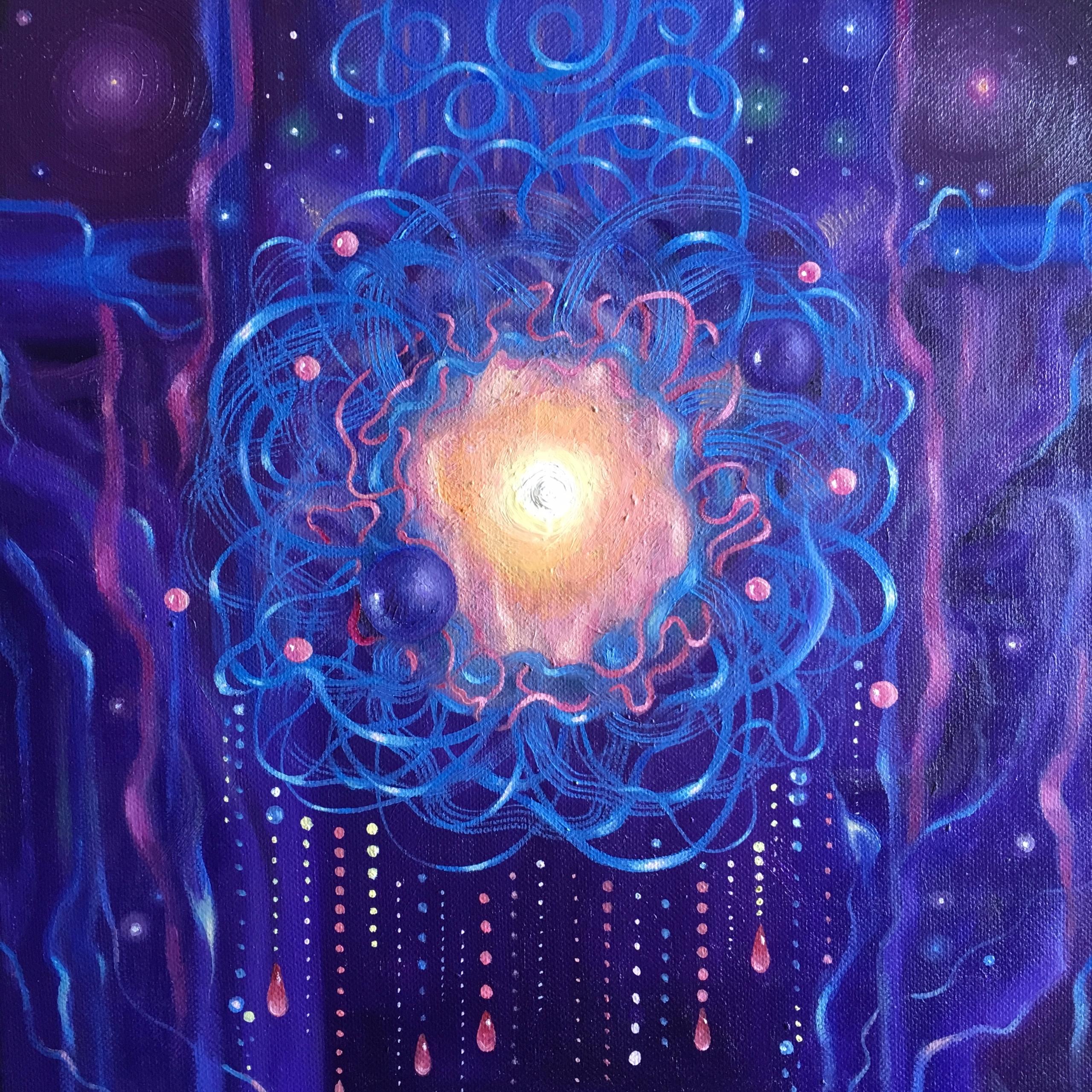 Origins, 12x12 oil canvas - arabella | ello