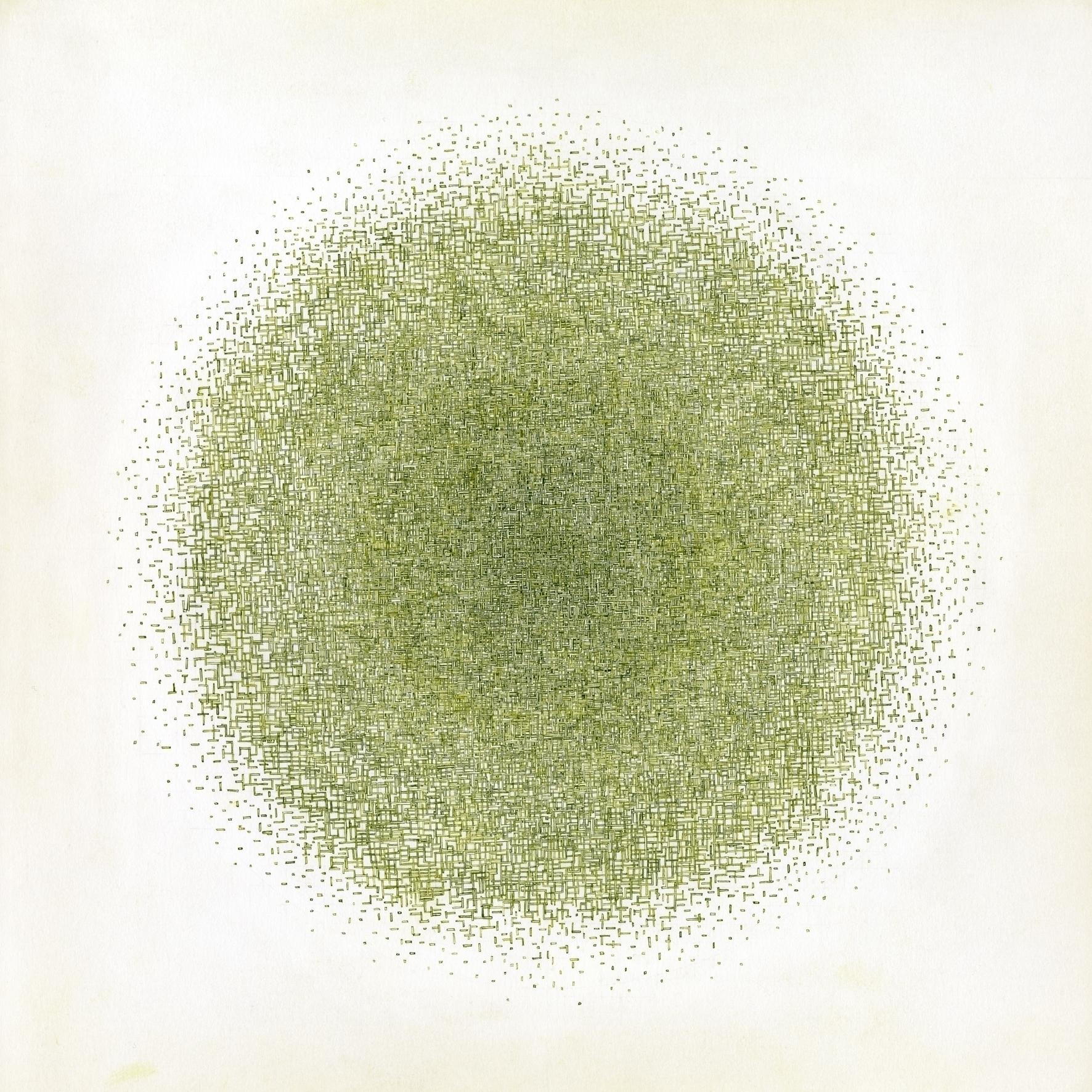 CIRCLE 3 ink paper, 30cm 30cm,  - slowcube | ello
