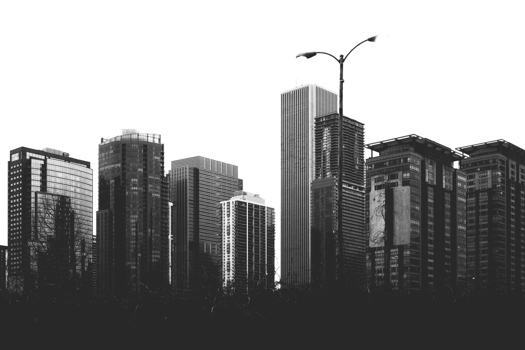 Rising Chicago Part skyline ris - mattgharvey | ello