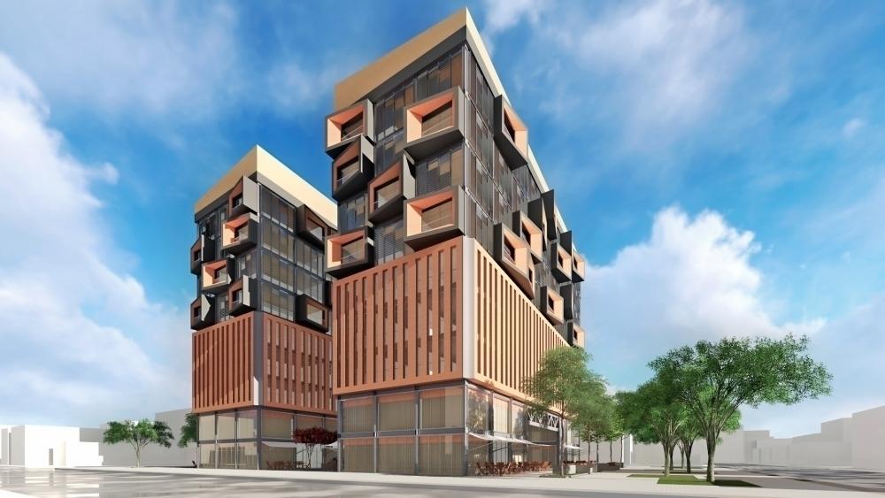 Mixed Building Model - arquitetura - magencio | ello