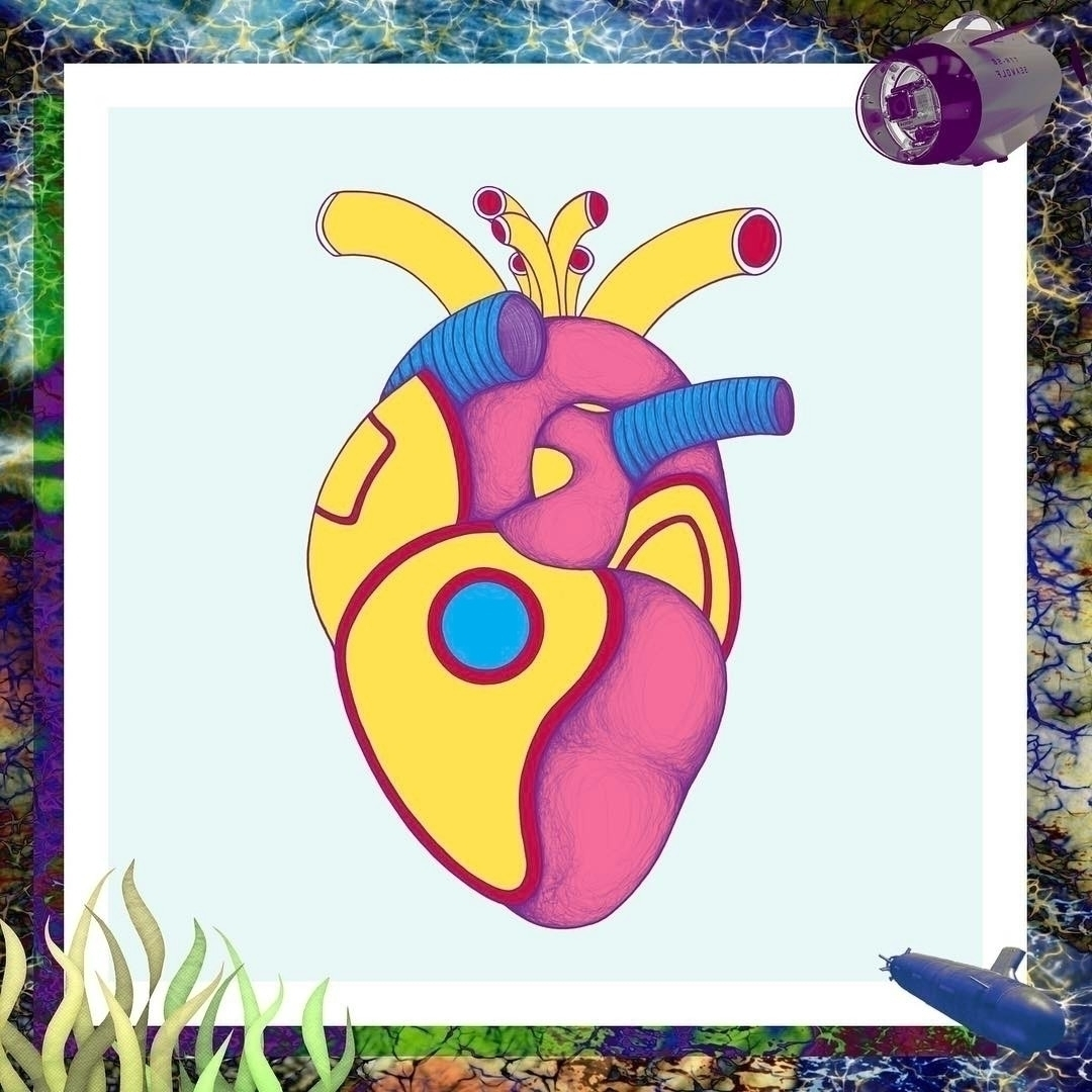 YELLOW SUBMARINE HEART  - ranggasme | ello