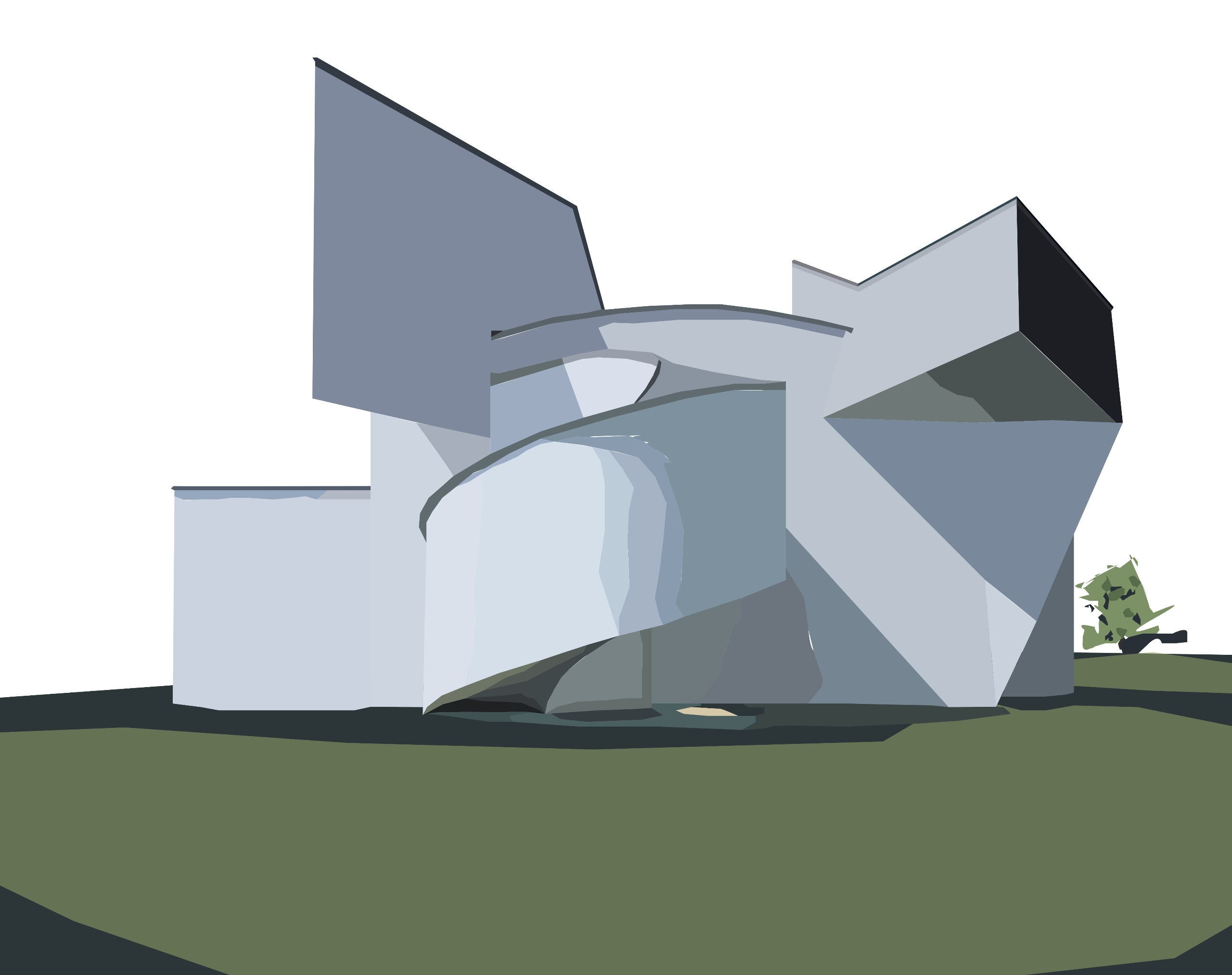 Vitra Design Museum Frank Gehry - sophieillustration   ello