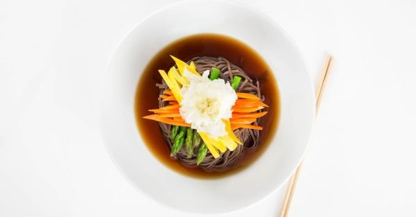 [**maru soba spring vegetables  - ellobrew | ello