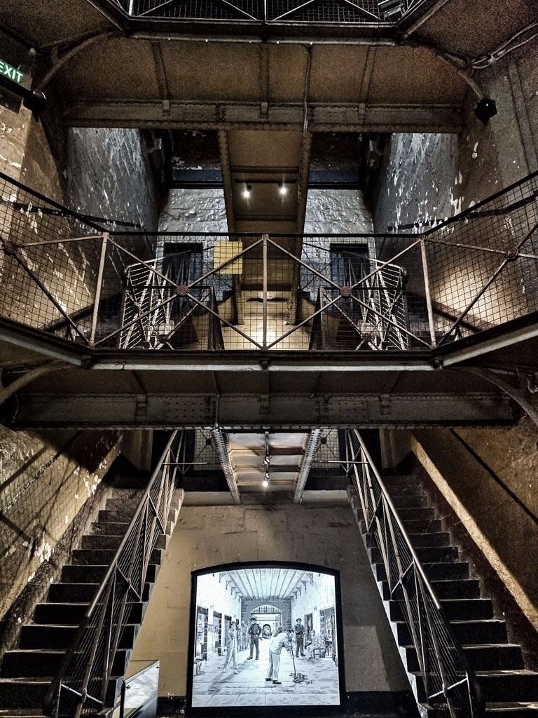 stairs talk // Melbourne Gaol,  - daphot | ello