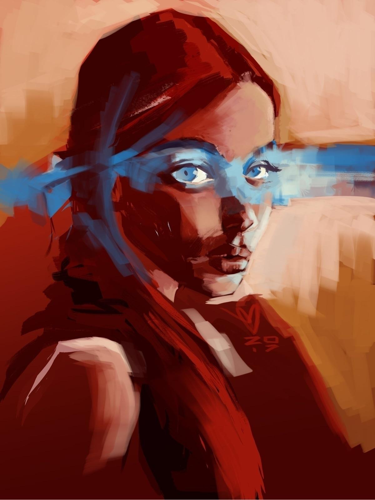 Camille Gross - portrait, women - evandileo | ello