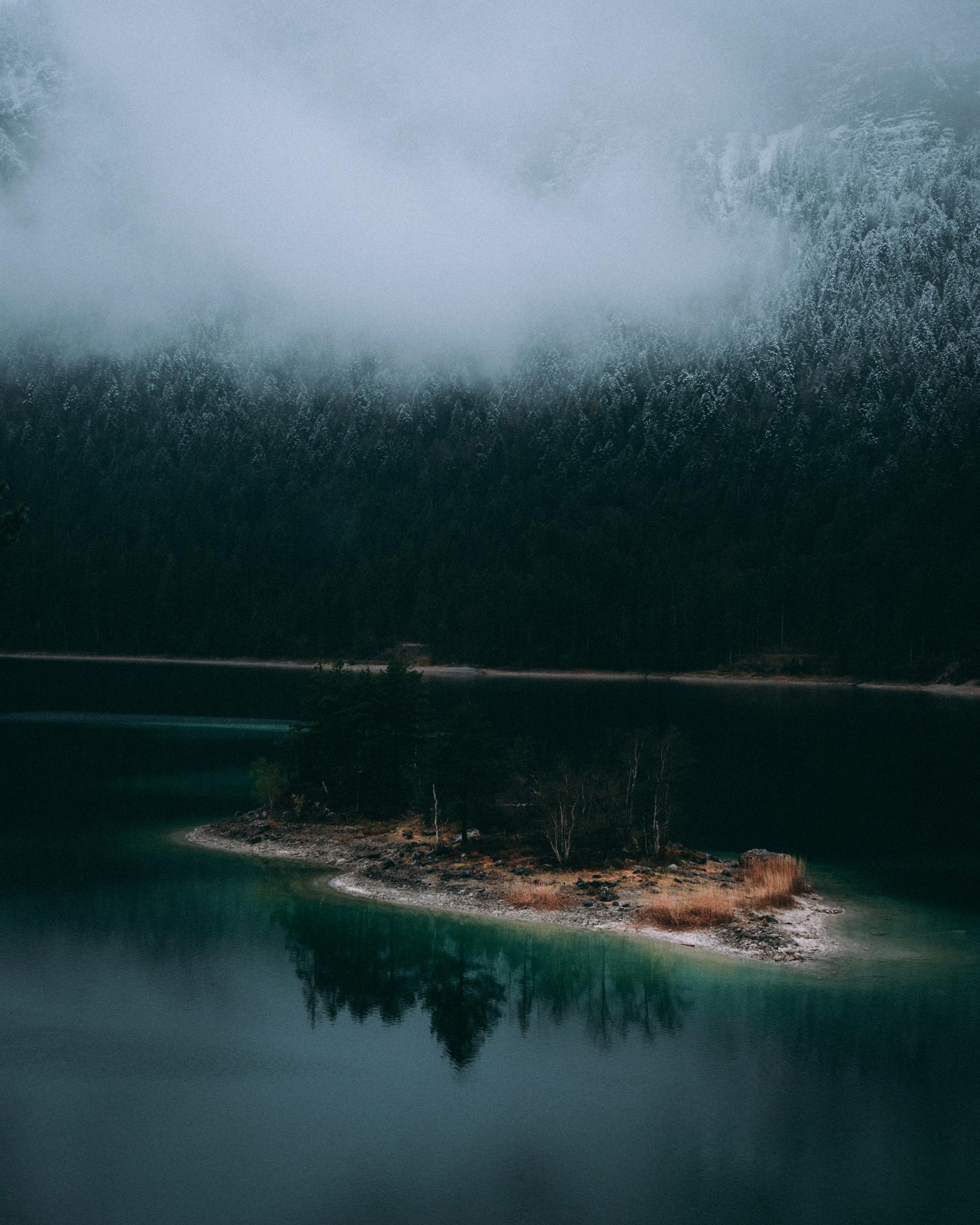 cold lonely mountainlake 6am - adventure - lavisuals | ello