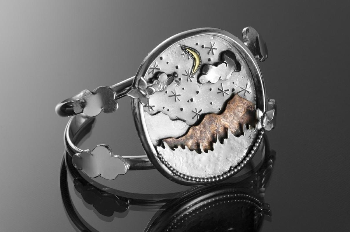 cuff inspired Tibetan Sky Buria - newerajewels | ello