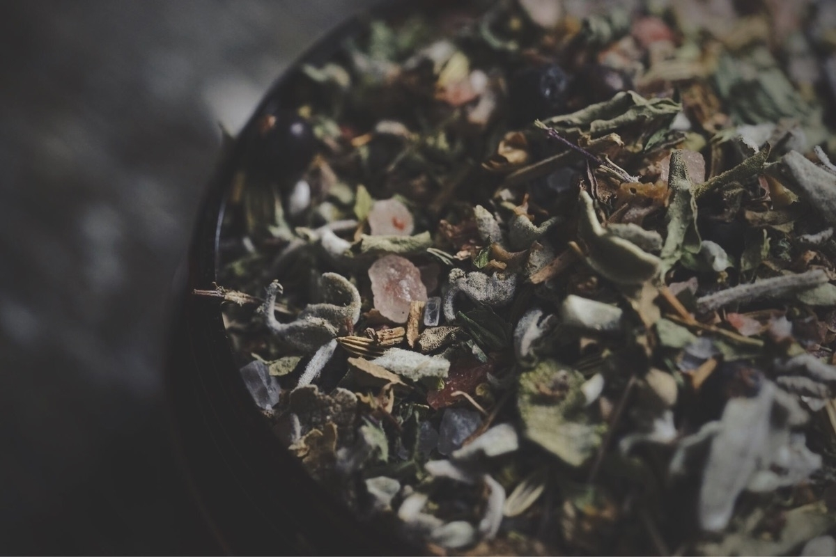 | Banishment Bath Tisane herbal - spiritwoods | ello