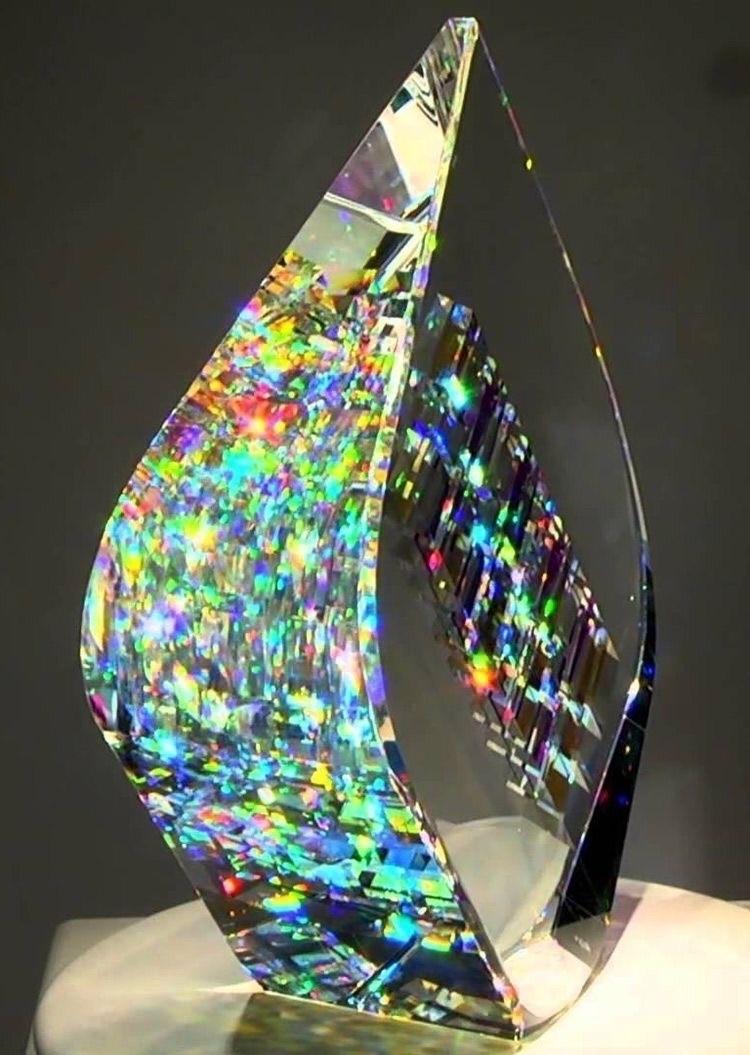 Glass Sculpture Jack Storm. Ima - ellocrystalart | ello