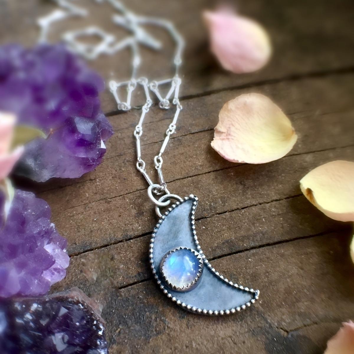 Moon child necklace shop - starseed - starseed_designs | ello
