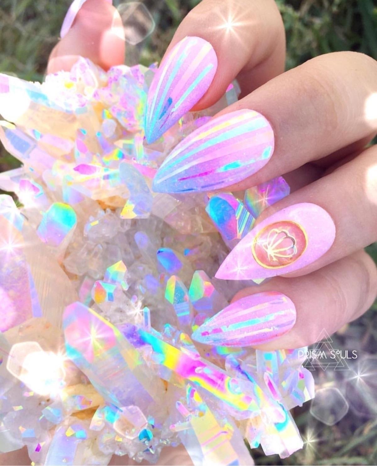 angelaura, rainbowaura, opalaura - prismsouls | ello