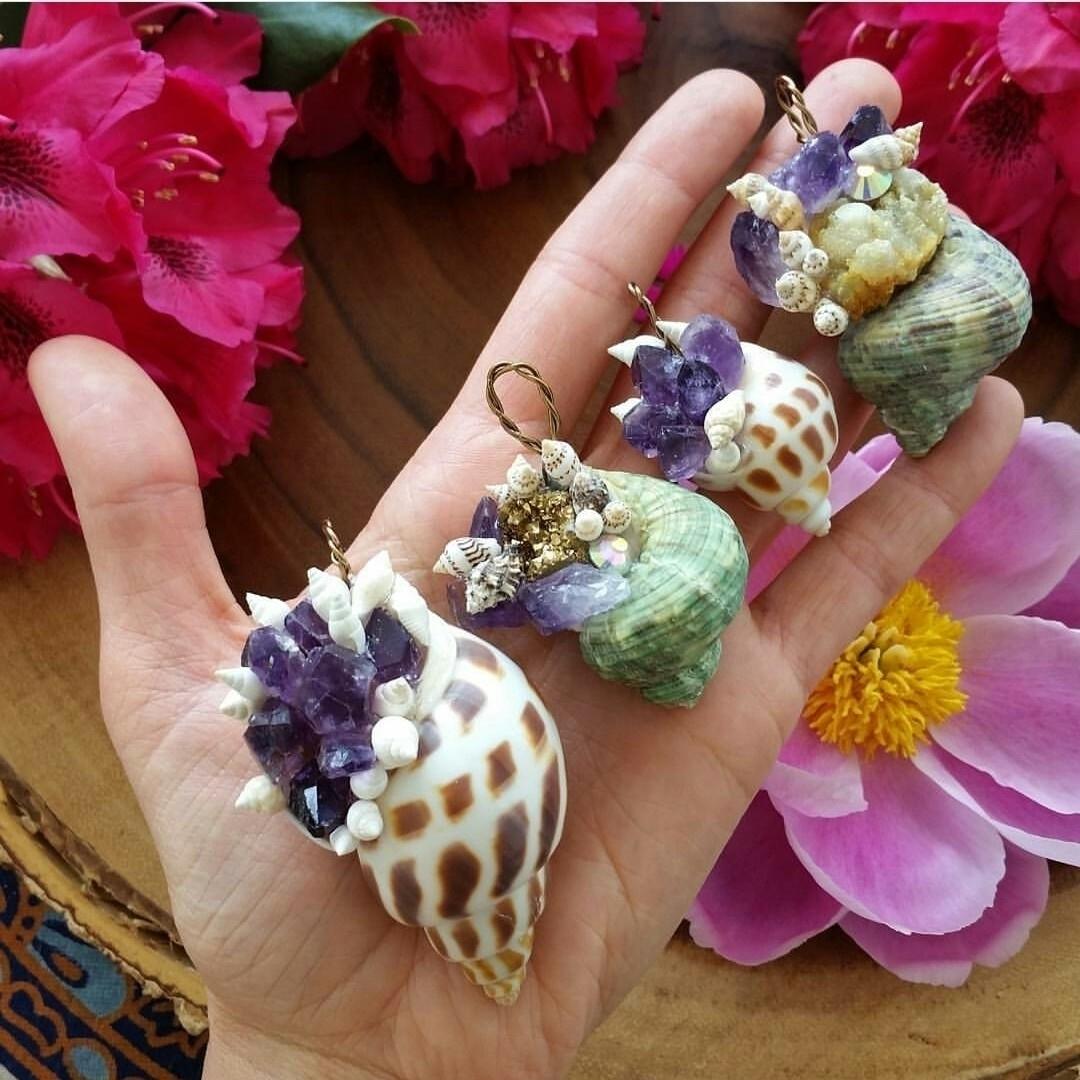 Crystal filled Mermaid Treasure - wildandfreepeople | ello