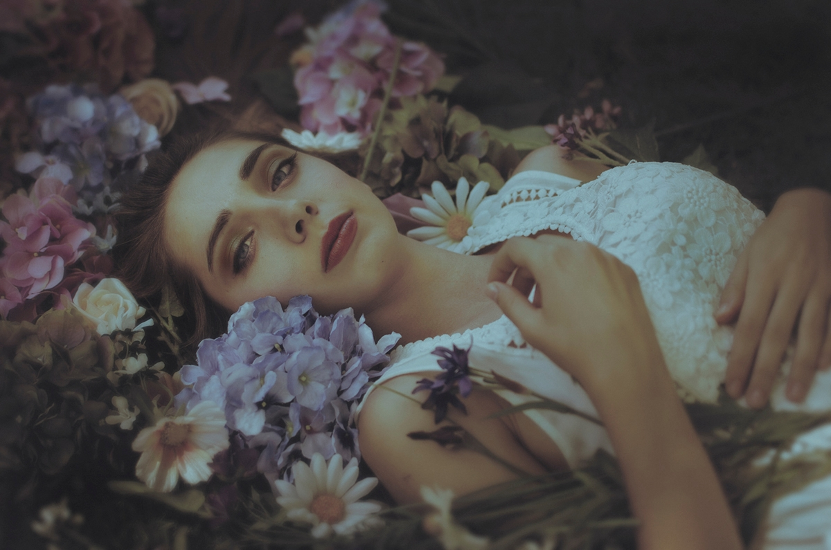 """Ophelia Darkness"" — Photograph - darkbeautymag | ello"