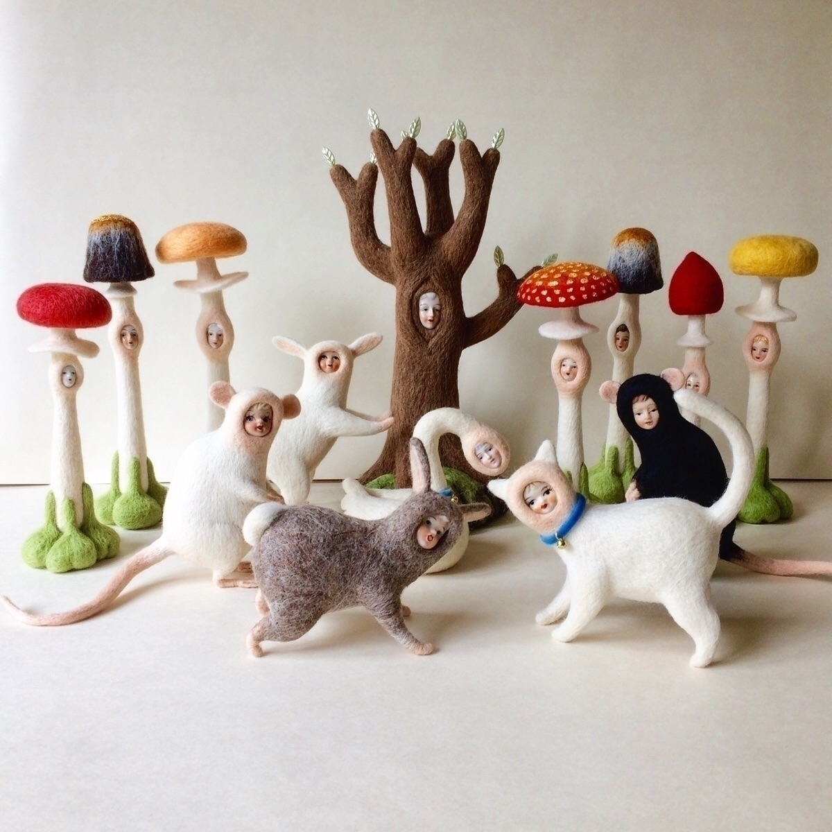 bit nervous, post! needlefeltin - lizzieneedles | ello