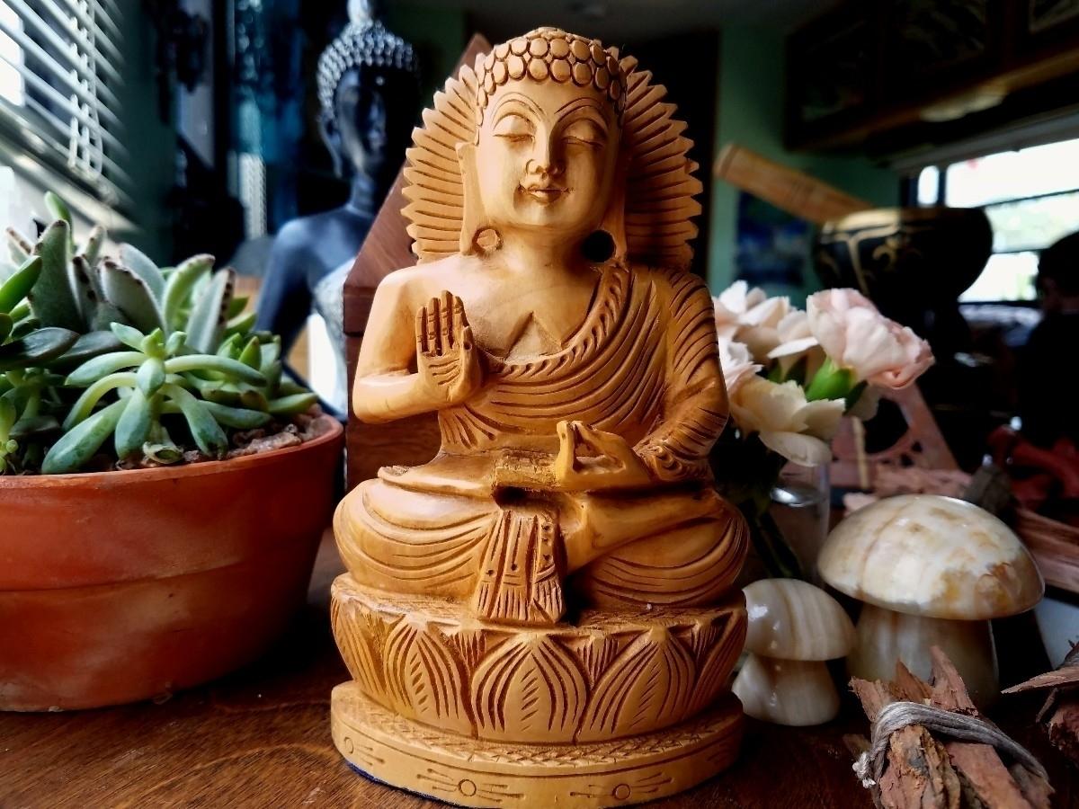 shipped peaceful Buddha Home De - sacreddivination | ello
