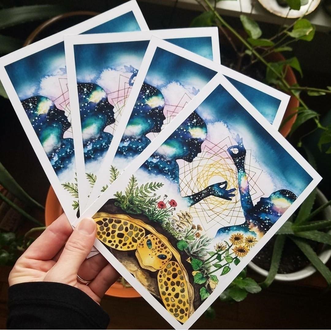 Spirit Weavers art prints 5x7 1 - starseedsprouting | ello