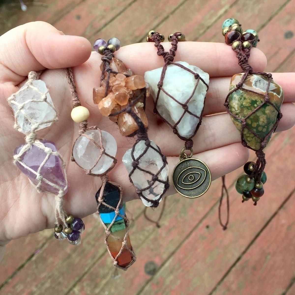 necklaces Etsy  - pagan, druid, goodvibes - healingglade | ello