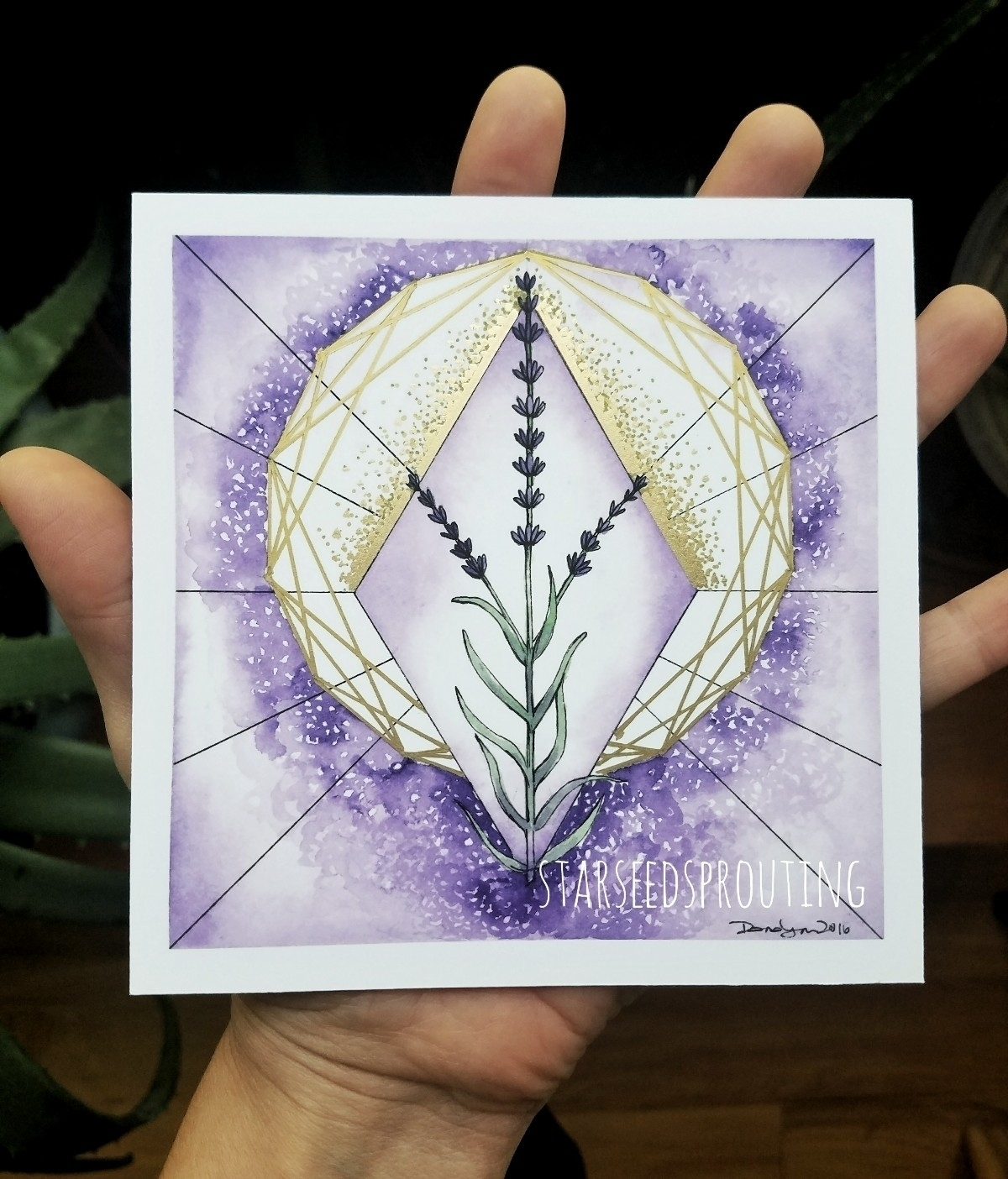 Lavender plant spirit combines  - starseedsprouting | ello