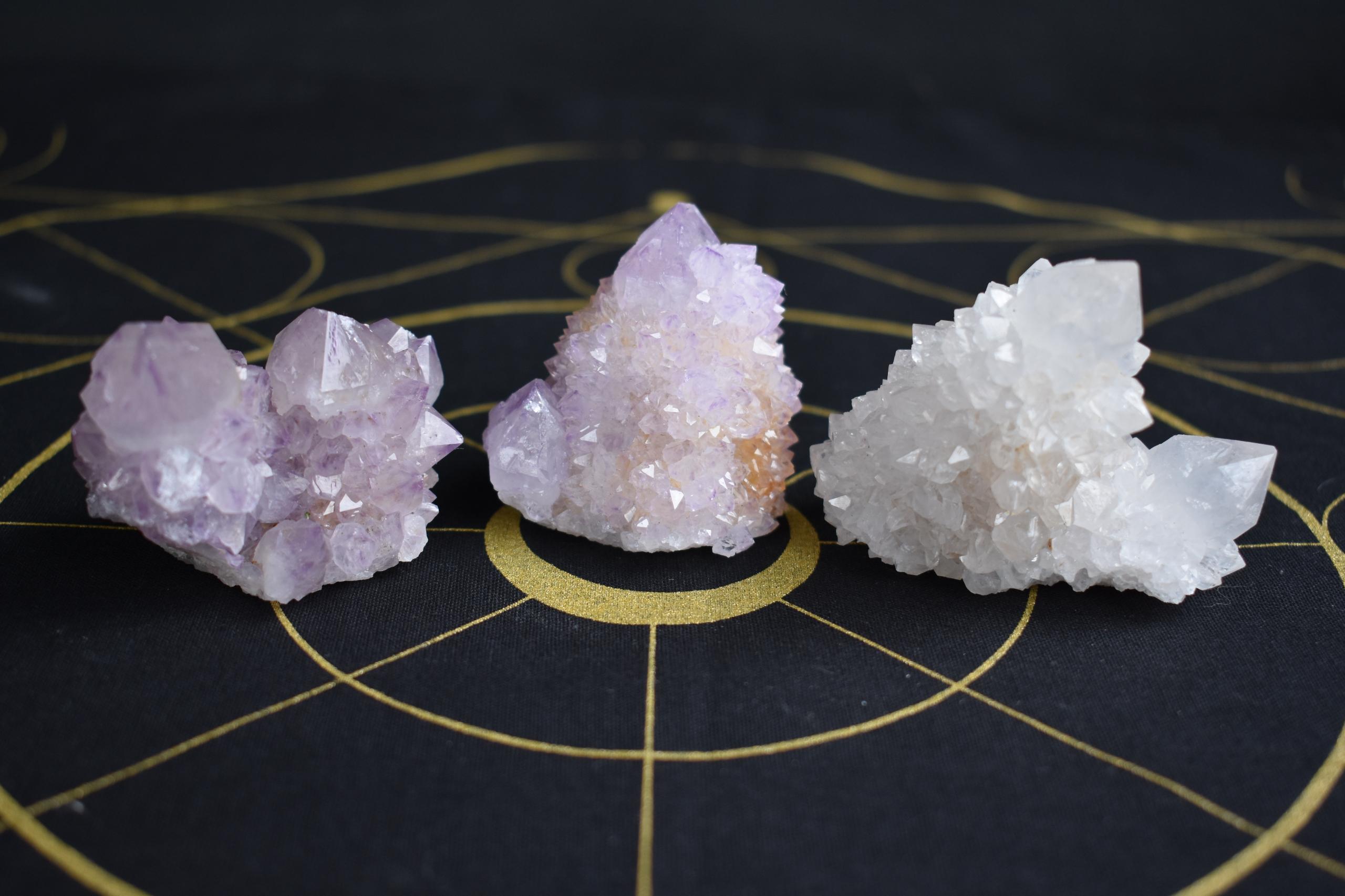 Spirit Quartz trio Higher Crown - sacredservicereiki | ello