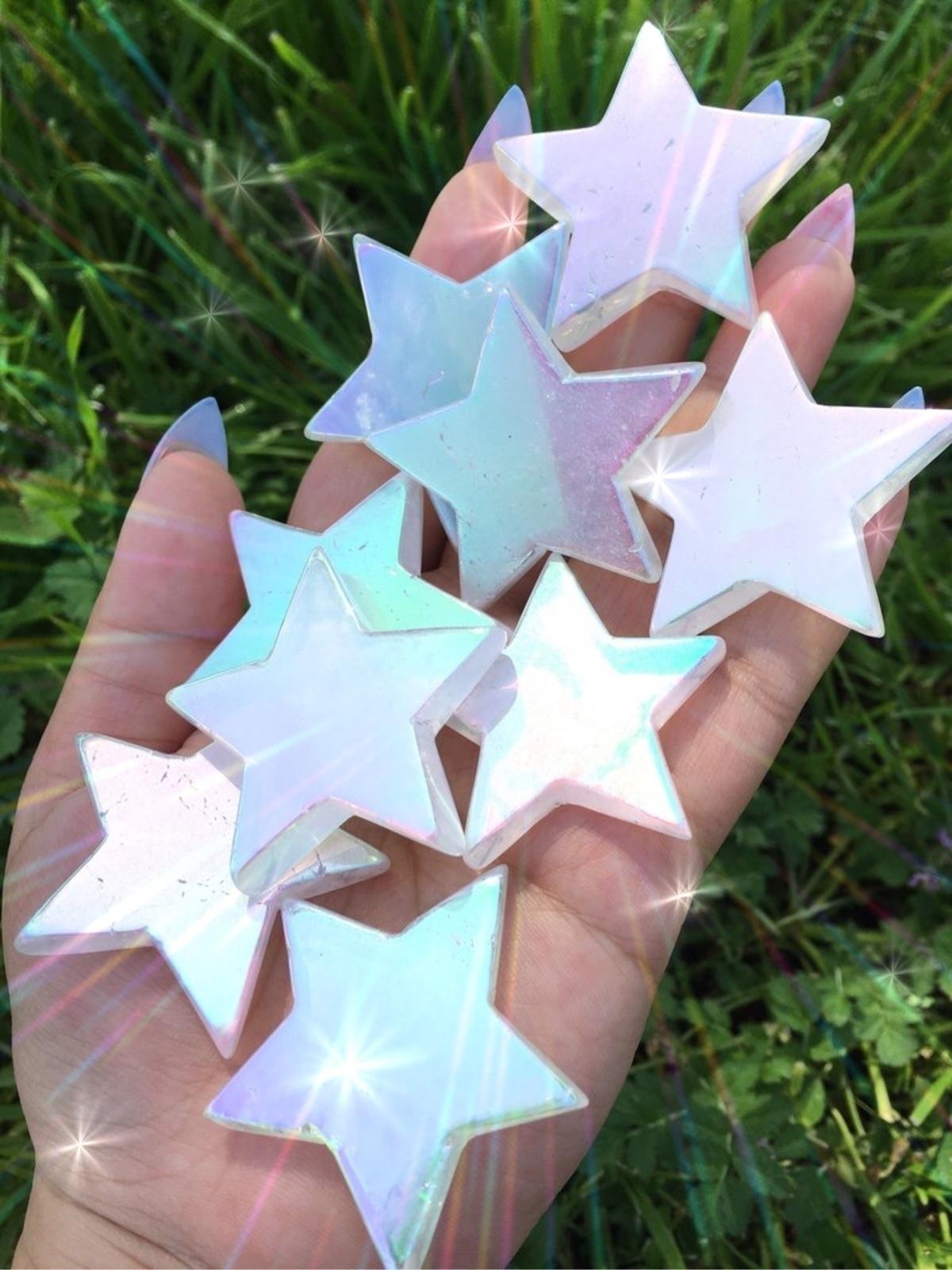 Pastel Angel Aura Quartz Stars - prismsouls | ello