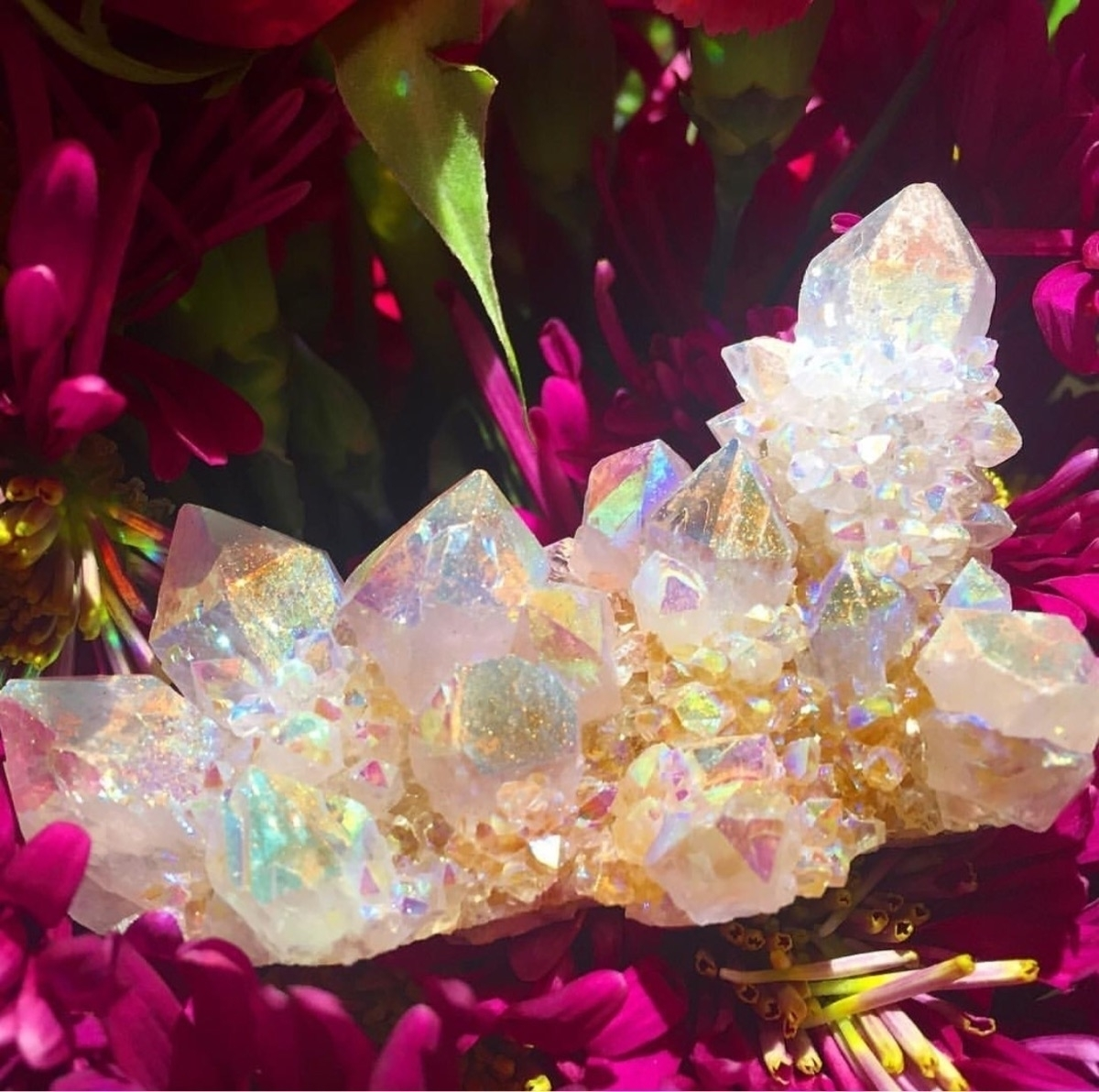 angel aura spirit quartz care w - prismsouls | ello