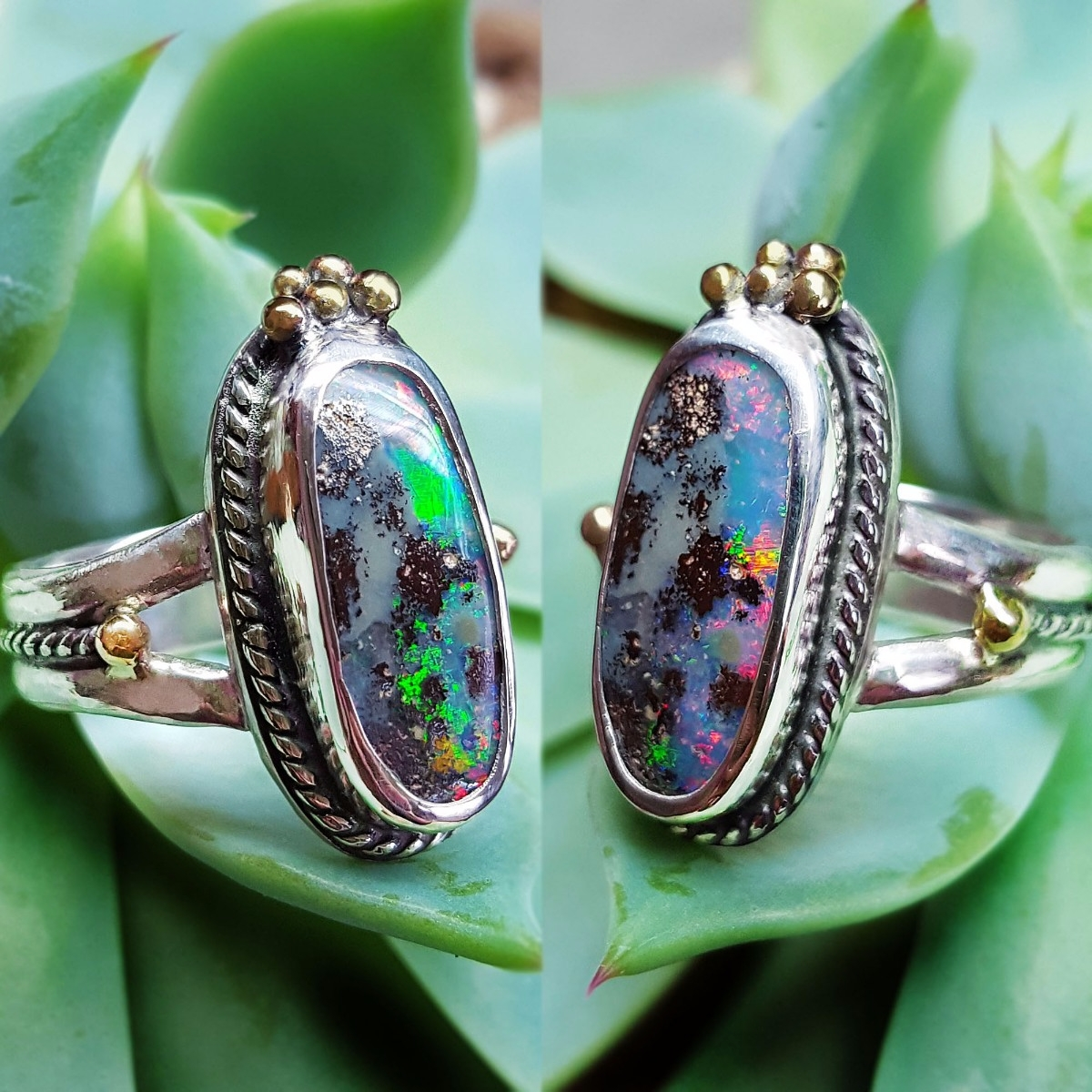 Custom Love rainbow flash! 14k  - kjohnsonjewelry | ello