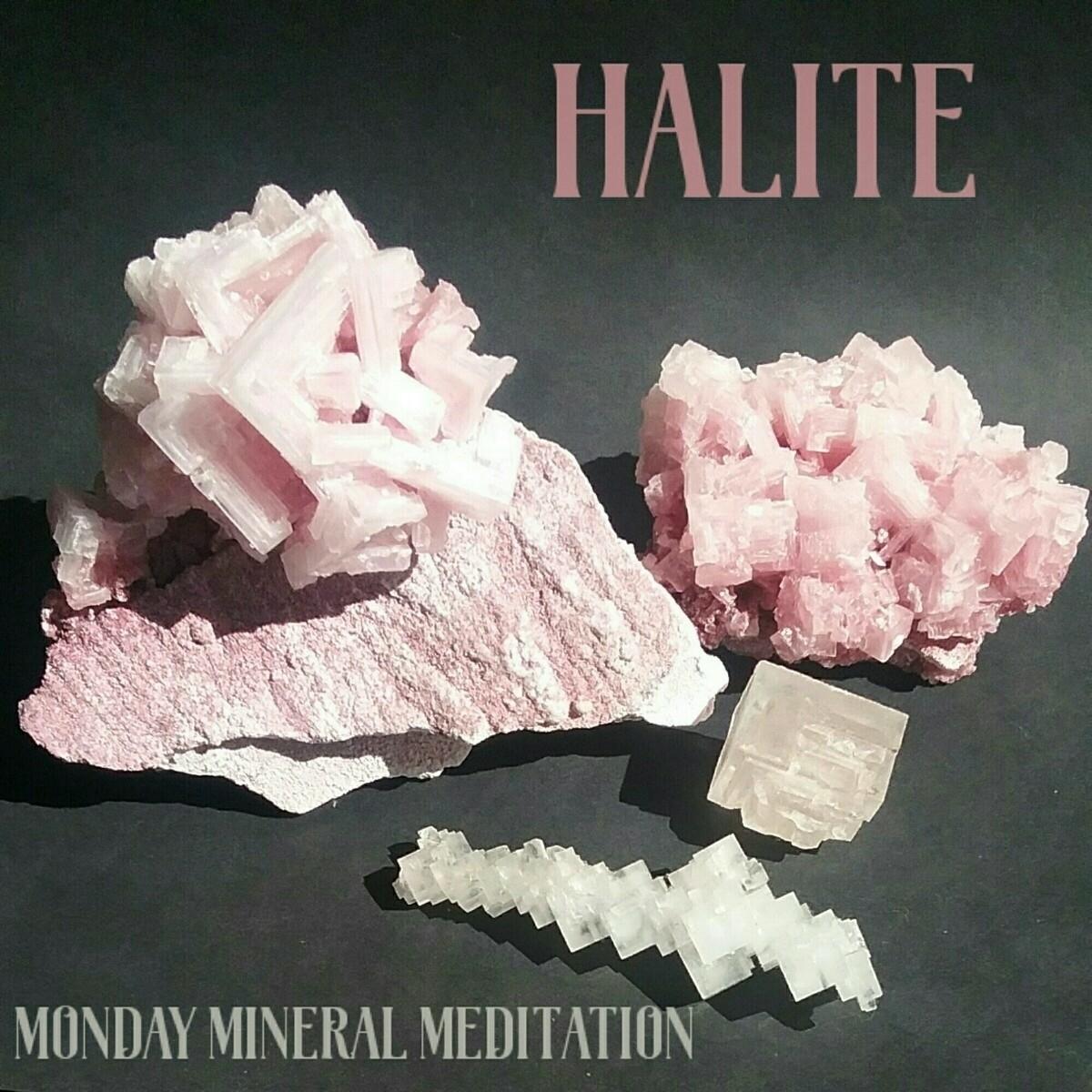 Monday Mineral Meditation ♢ Hal - sacredservicereiki | ello