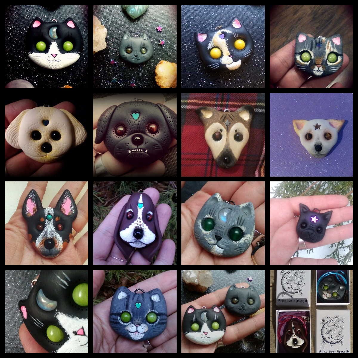 Custom cats custom dogs ! Reque - themoonbeams | ello