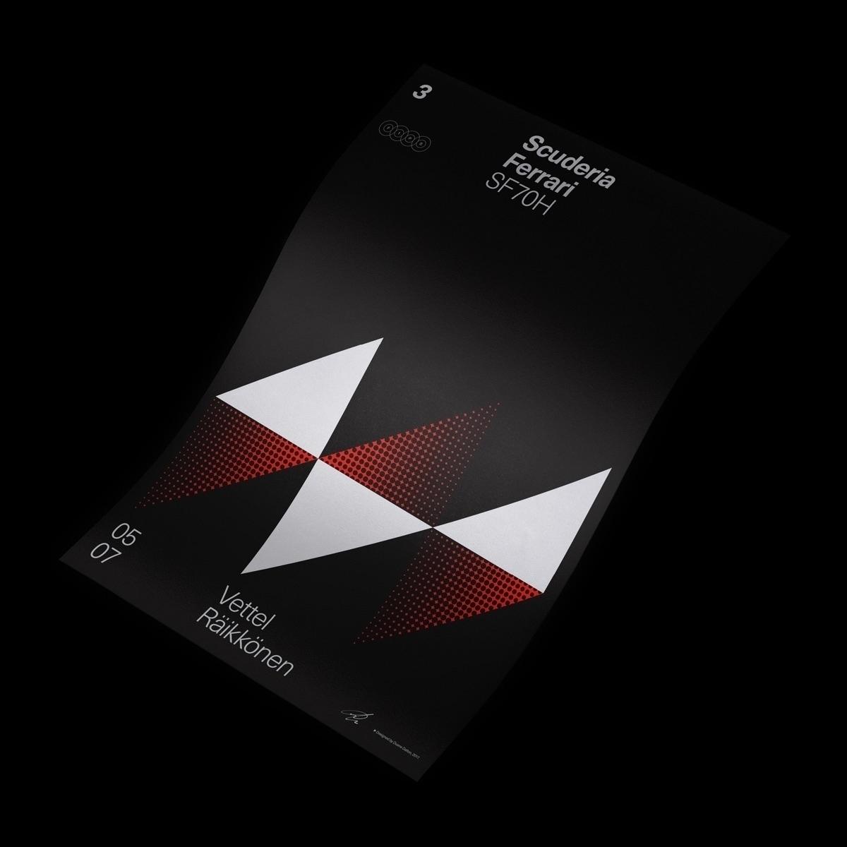 Formula Poster Series 2017 — 3 - duanedalton | ello