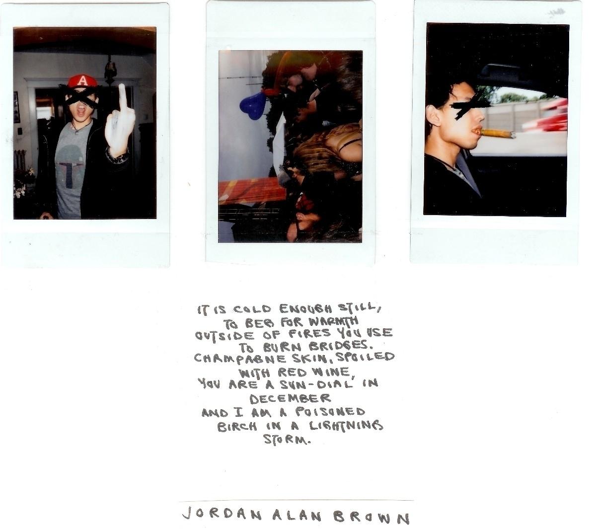 Micro Poem | Jordan Alan Brown - jordan-alan-brown | ello
