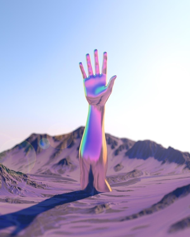 candy mountain, Charlie - digitalart - nickjaykdesign | ello