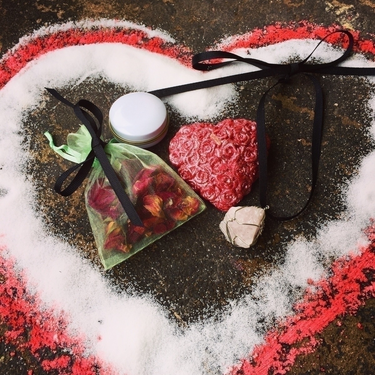 Love Altar Kit kit heart candle - savageapothecary | ello