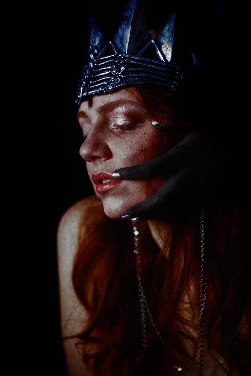 "Corrupted Queen"" — Photographer - darkbeautymag | ello"