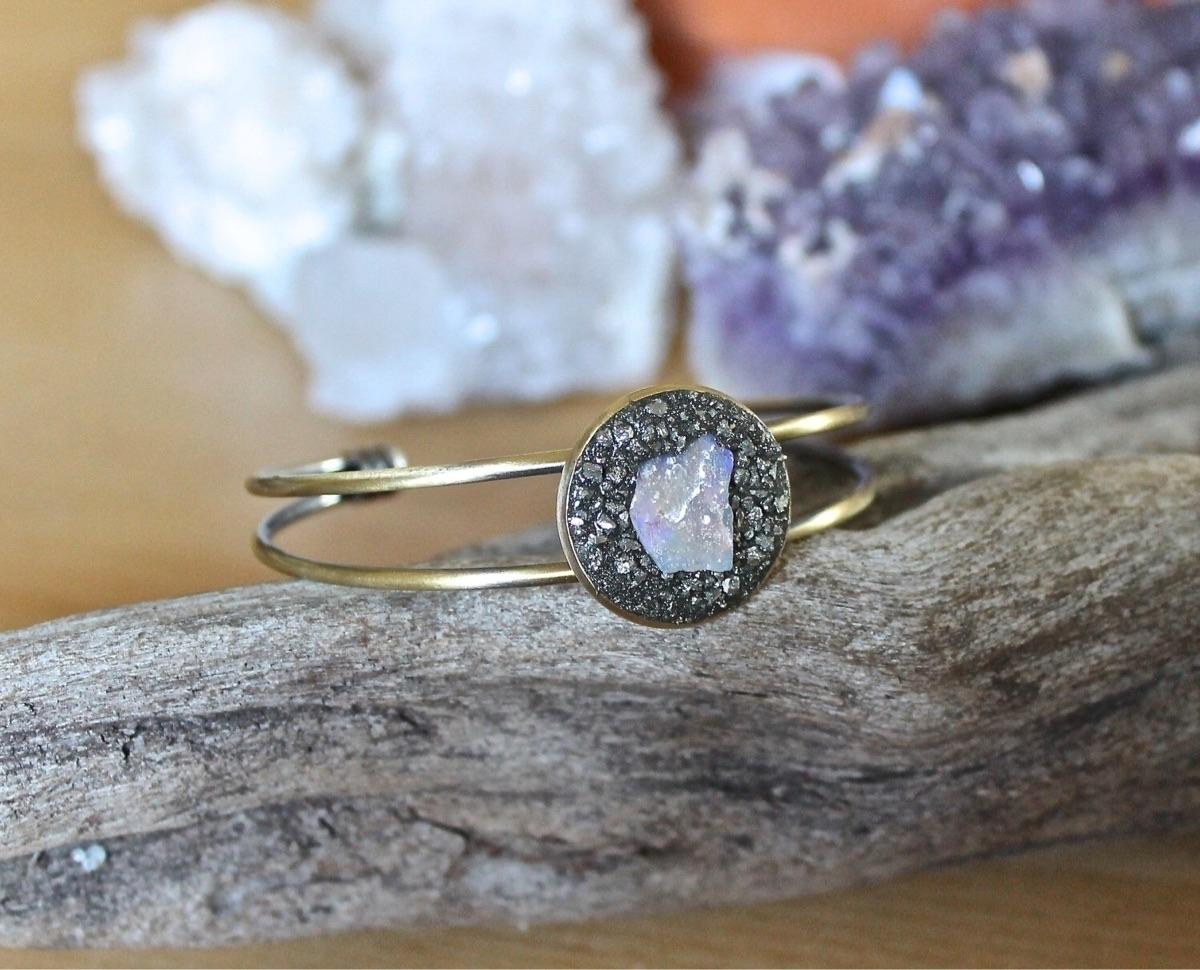 Raw opal cuff bracelet - jewelry - adamfjgreen | ello