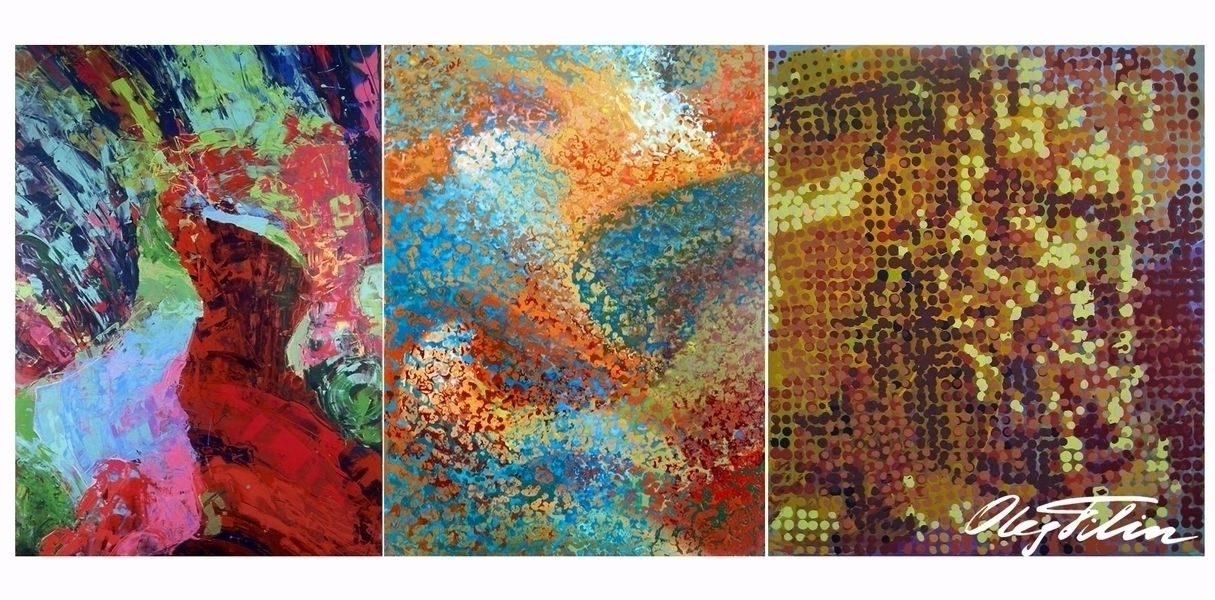 Abstract': set digital works, b - filin   ello