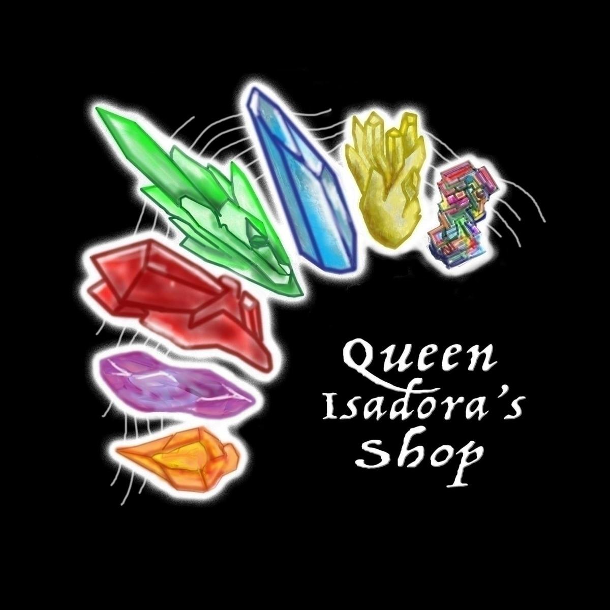 Ello page small business, Queen - queenisadora | ello