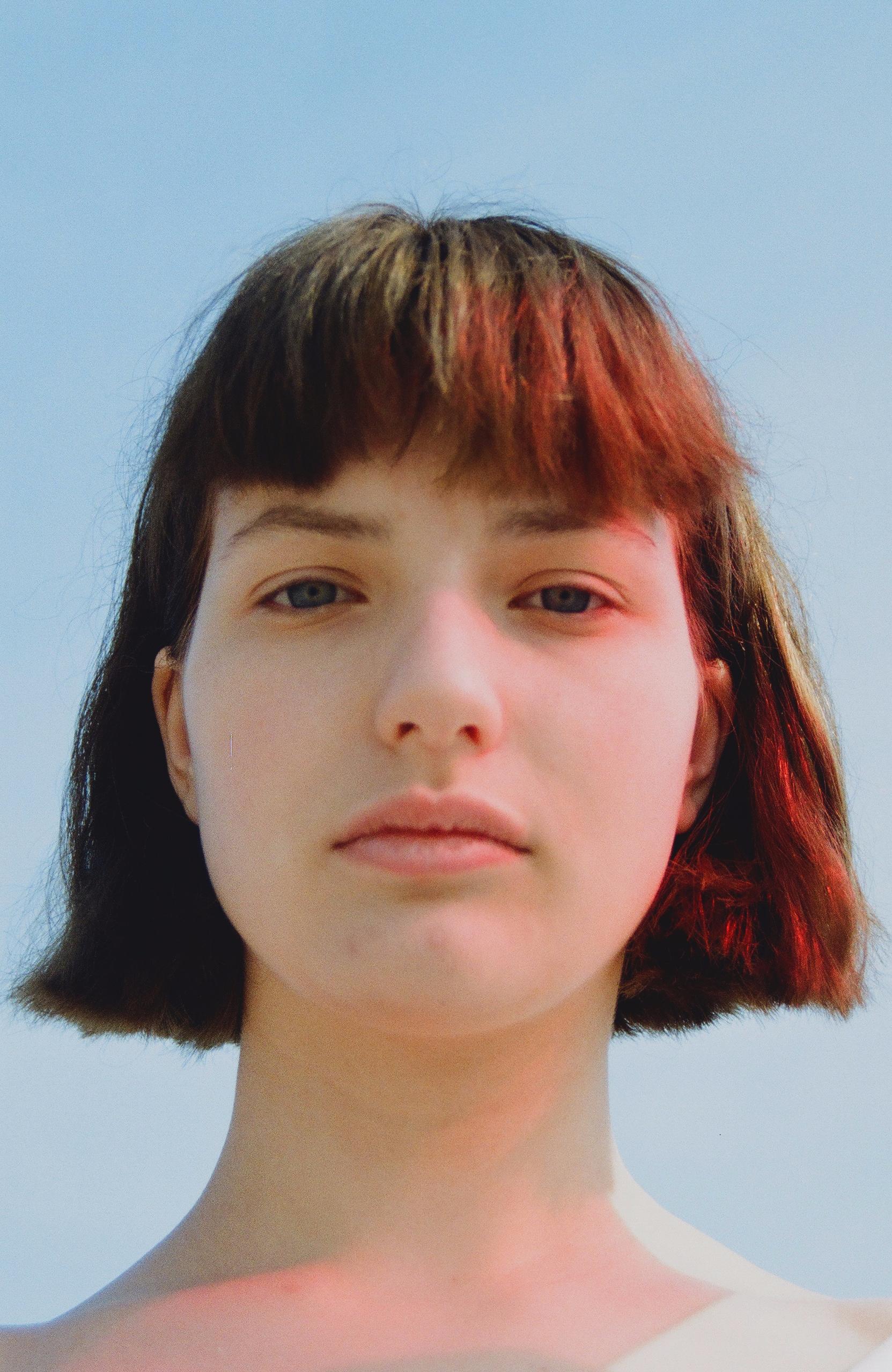 girl, red, photography, sky - natashakotz | ello